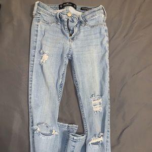 Light hollister jeans
